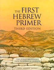 Cover of: Companion to the First Hebrew Primer