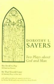 Cover of: Two Plays About God And Man