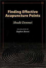Cover of: Finding Effective Acupuncture Points