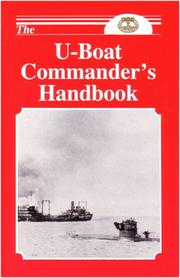 Cover of: The U Boat Commanders Handbook