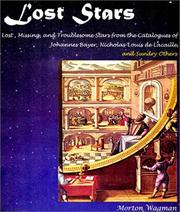 Cover of: Lost Stars