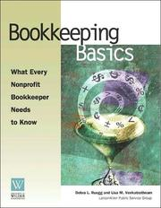 Cover of: Bookkeeping Basics