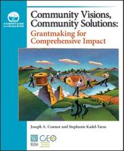 Cover of: Community Visions, Community Solutions