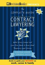 Cover of: The Complete Guide to Contract Lawyering