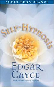 Cover of: Self-Hypnosis