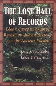 Cover of: The Lost Hall of Records