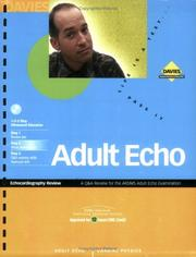 Cover of: Adult Echo