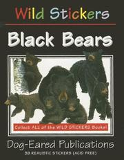 Cover of: Black Bears (Wild Stickers)