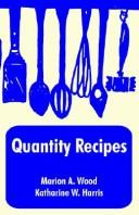 Cover of: Quantity Recipes