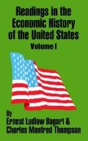 Cover of: Readings in the Economic History of the United States