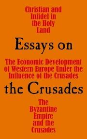 Cover of: Essays on the Crusades