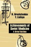 Cover of: Achievements of Soviet Medicine