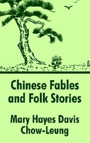 Cover of: Chinese Fables and Folk Stories