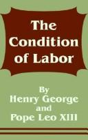 Cover of: The Condition of Labor