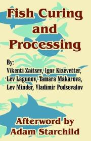 Cover of: Fish Curing And Processing
