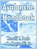 Cover of: Avalanche Handbook