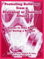 Cover of: Protecting Buildings From A Biological Or Chemical Attack