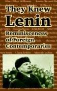 Cover of: They Knew Lenin