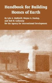 Cover of: Handbook for Building Homes of Earth