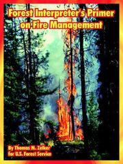 Cover of: Forest Interpreter's Primer on Fire Management