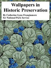 Cover of: Wallpapers in Historic Preservation