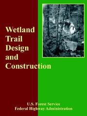 Cover of: Wetland Trail Design And Construction