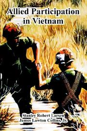 Cover of: Allied Participation in Vietnam