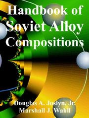 Cover of: Handbook of Soviet Alloy Compositions