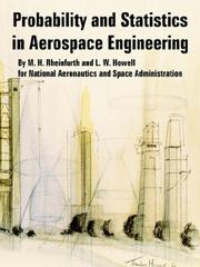Cover of: Probability and Statistics in Aerospace Engineering