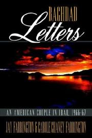 Cover of: Baghdad Letters