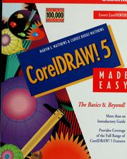 Cover of: CorelDRAW! 5 made easy