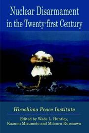 Cover of: Nuclear Disarmament in the Twenty-first Century