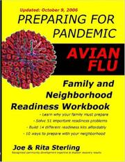 Cover of: Preparing for Pandemic Avian Flu - Family & Neighborhood Readiness Workbook