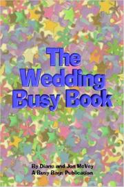 Cover of: The Wedding Busy Book