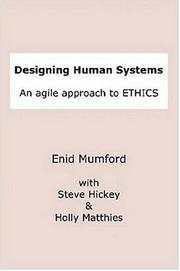 Cover of: Designing Human Systems