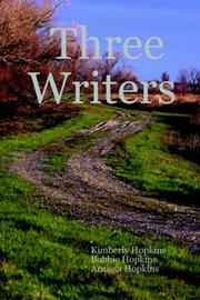 Cover of: Three Writers