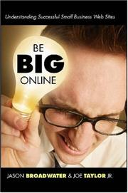 Cover of: Be Big Online