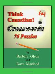 Cover of: Think Canadian! Crosswords