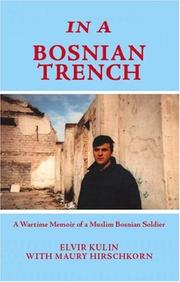 Cover of: In a Bosnian Trench
