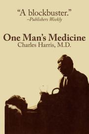 Cover of: One Man's Medicine