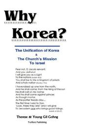 Cover of: Why Korea?