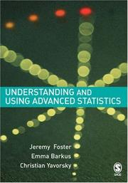 Cover of: Understanding and Using Advanced Statistics