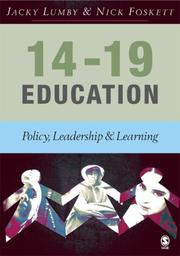 Cover of: 14-19 Education
