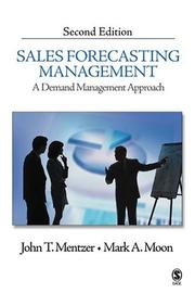 Cover of: Sales Forecasting Management