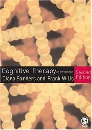 Cover of: Cognitive Therapy