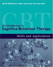 Cover of: An Introduction to Cognitive Behaviour Therapy