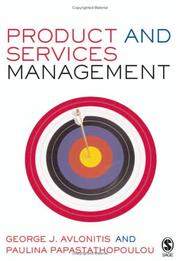 Cover of: Product and Services Management