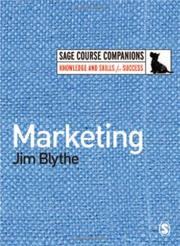 Cover of: Marketing (SAGE Course Companions)
