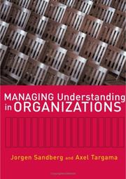 Cover of: Managing Understanding in Organizations