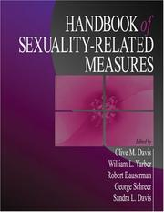 Cover of: Handbook of Sexuality-Related Measures